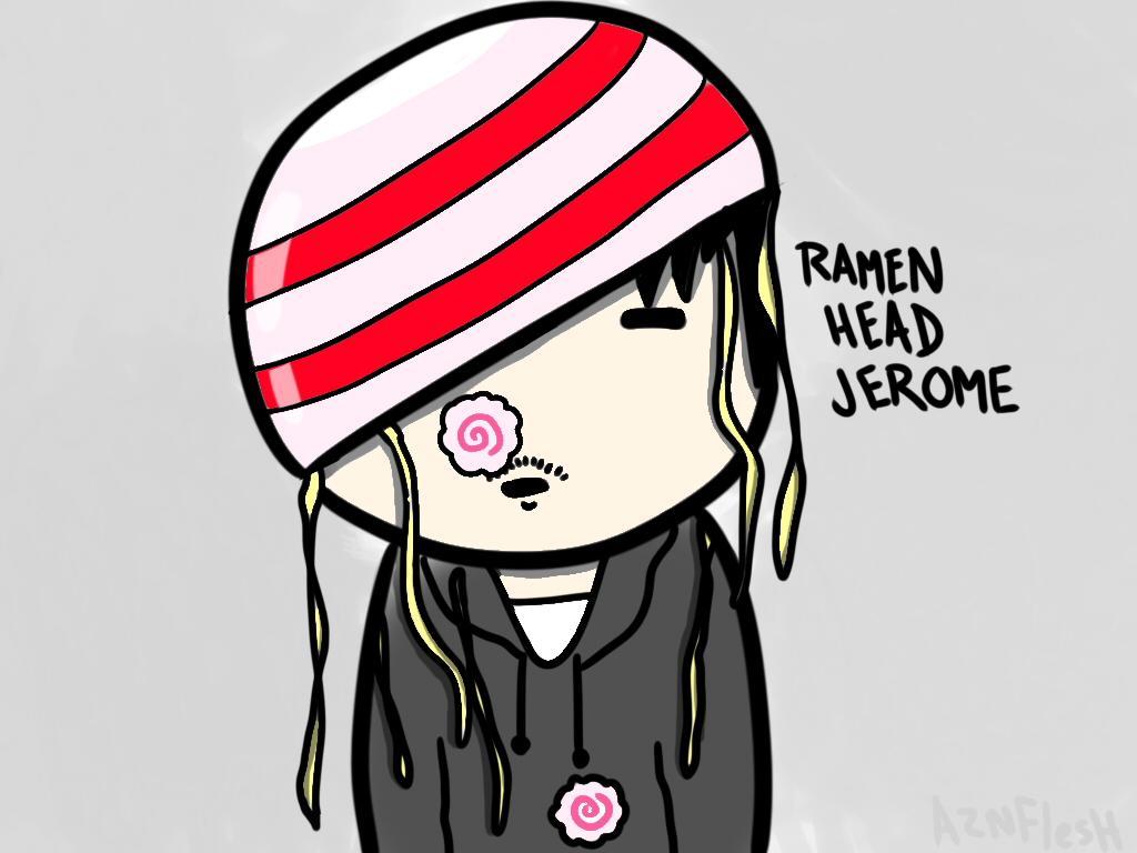 Ramen Head Jerome by AznFlesh
