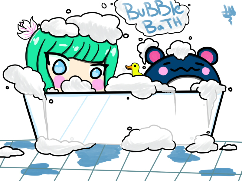 Bubble Bath by AznFlesh