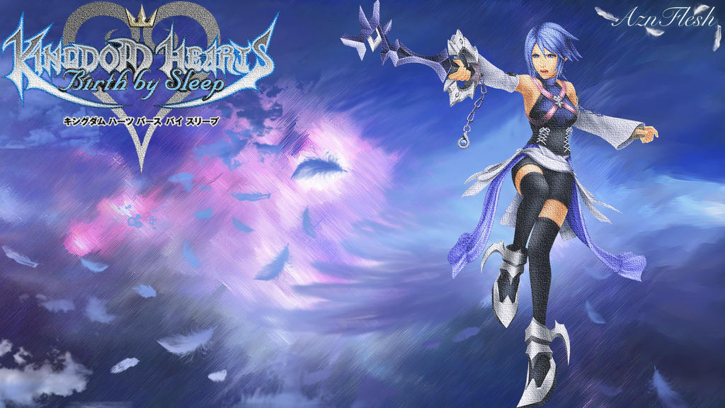 Kingdom Hearts Aqua Angel by AznFlesh