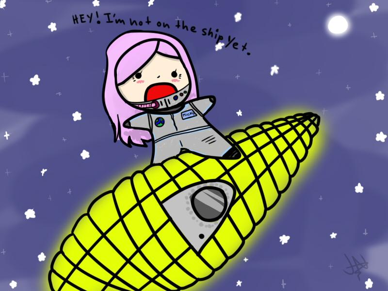 Micky's Corn Ship by AznFlesh