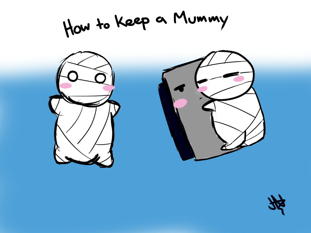 How To Keep A Mummy Part 1 By Aznflesh On Deviantart Miira no kaikata is also known as how to keep a mummy. mummy part 1 by aznflesh on deviantart