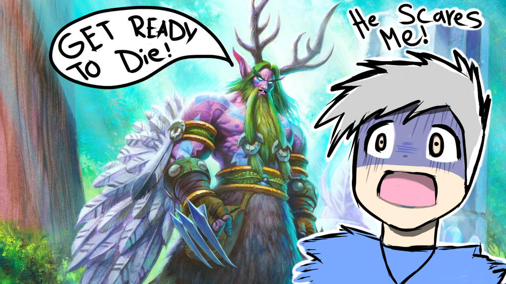 Hearthstone thumbnail for my YouTube video by AznFlesh