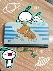 3Ds Case Rilakkuma Pic by AznFlesh