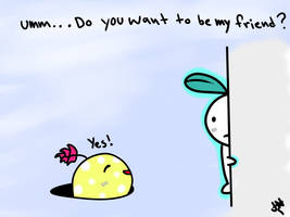 Do you want to be my friend? by AznFlesh