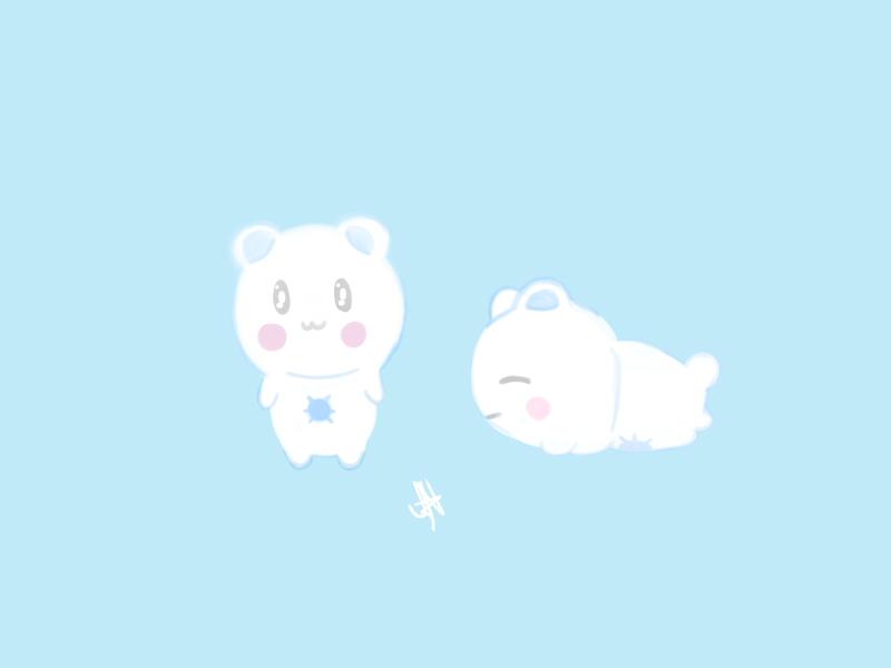 Weird looking Bear by AznFlesh