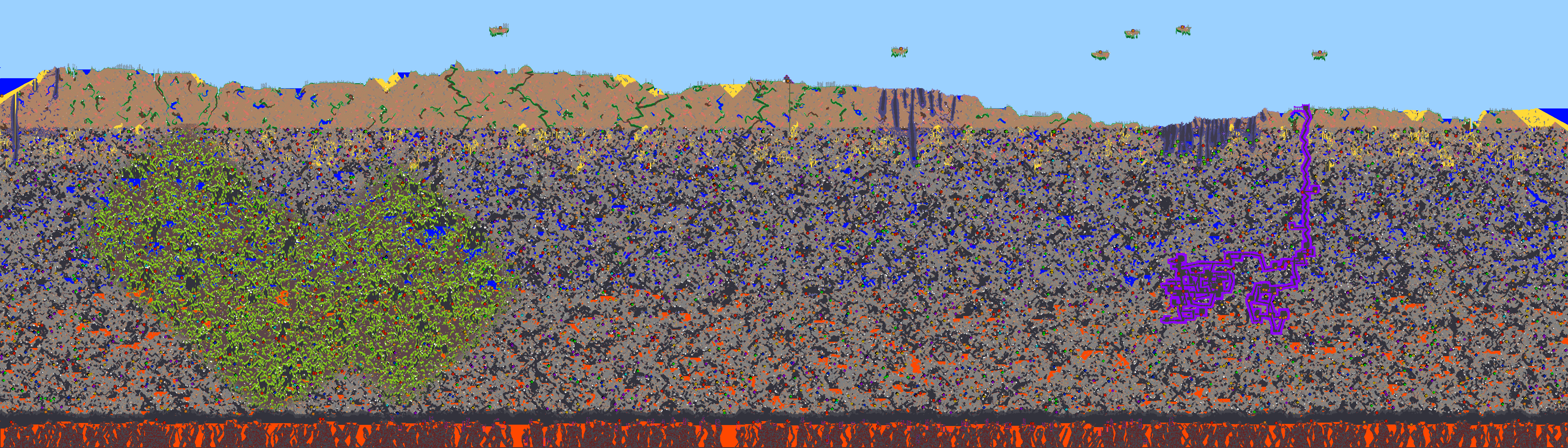 2d tile world generation general and gameplay programming httpfc06iantartfs70f201114529terraria mapviewerbykronedawg d3h67a2g gumiabroncs Images