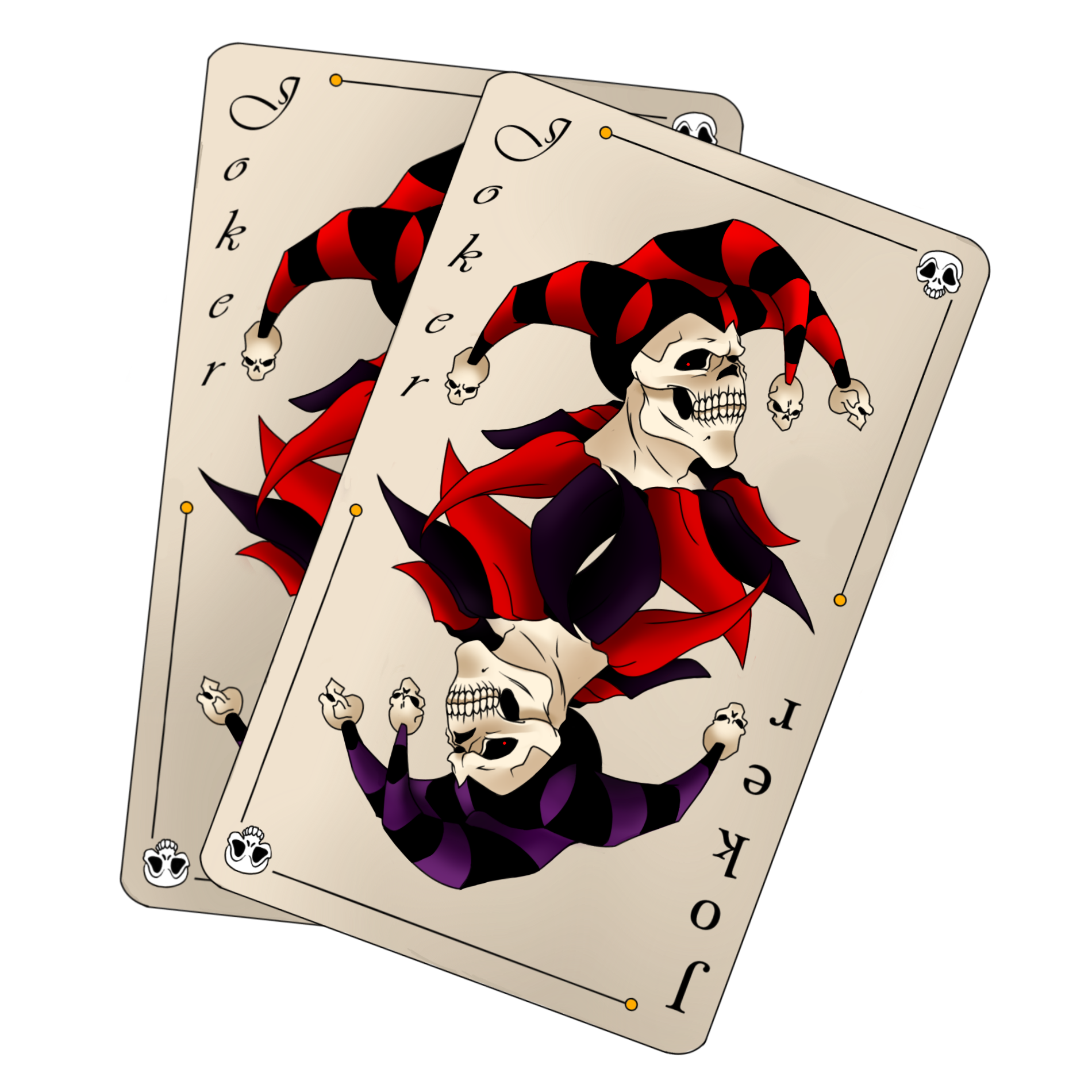 Joker Card Tattoo Ideas: Joker Card Tattoo Design By Panndy On DeviantArt