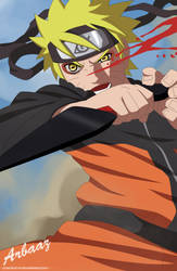 Sage Naruto in Action by Practice-s