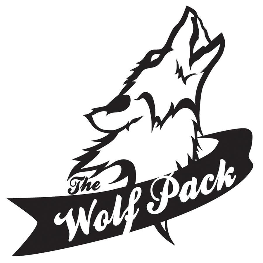 Wolf pack logo design - photo#1