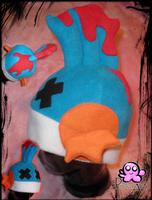 Deadkip hat by PinkuArt
