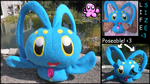 Lifesize Manaphy plush