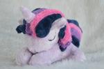 Sleepy Twilight Sparkle filly plush