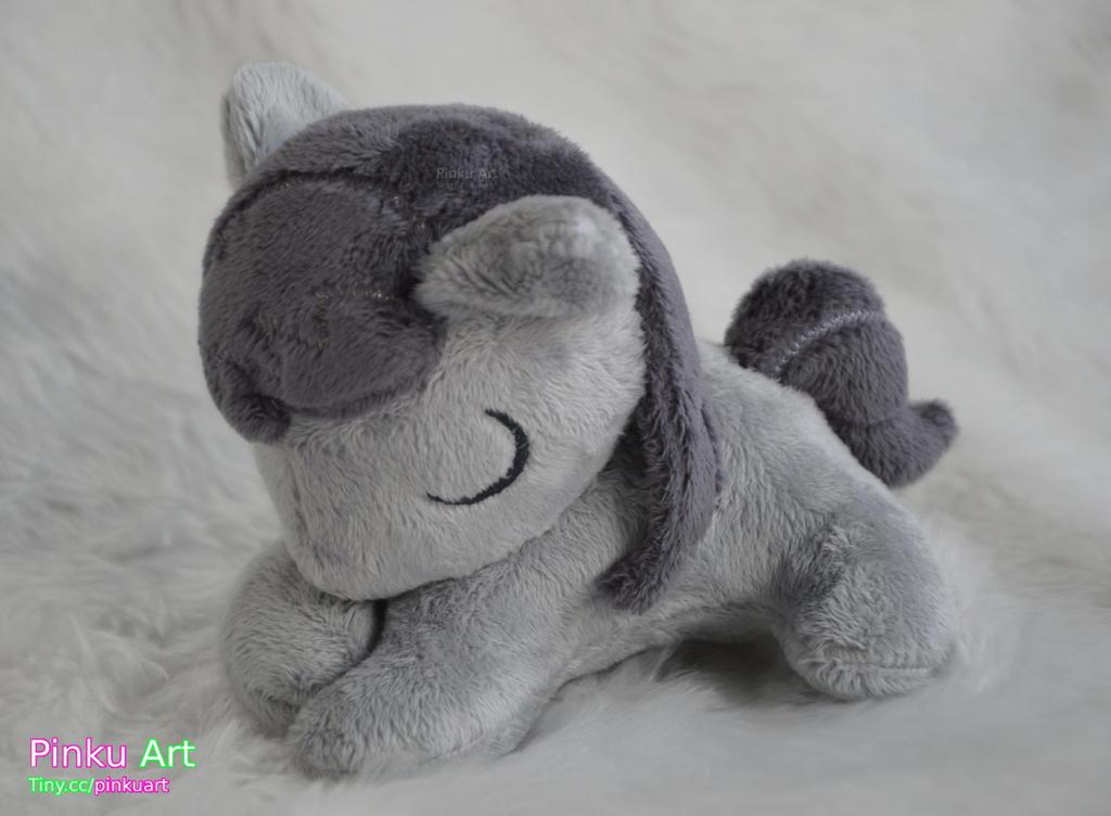 Sleepy filly Octavia plushie by PinkuArt