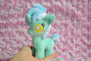 Tiny baby Lyra plush by PinkuArt