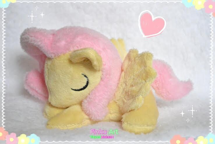 Sleepy filly Fluttershy