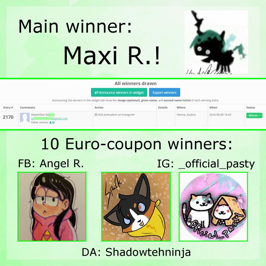 Winners by PinkuArt