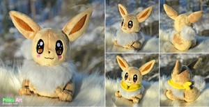 Shiny Eevee plush