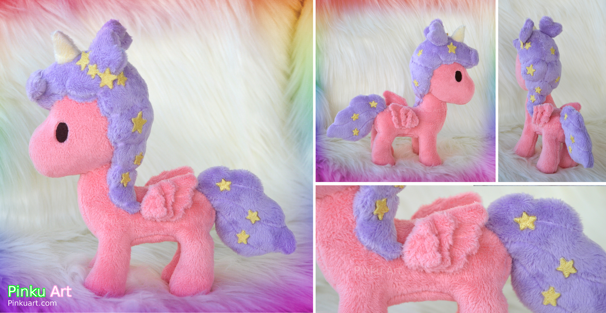 Fabulous unicorn plush by PinkuArt
