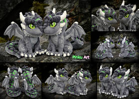 Dragon OC Ullises - most detailed plush ever by PinkuArt