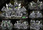 Dragon OC Ullises - most detailed plush ever