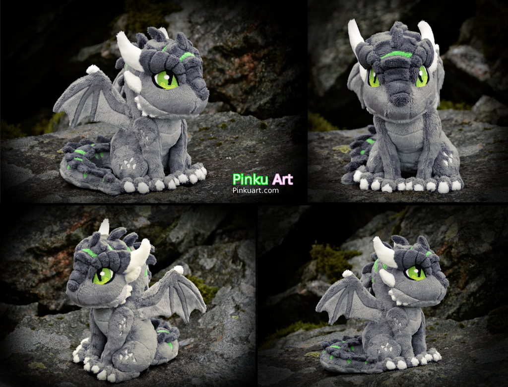 Dagon OC Ullises plush #1 by PinkuArt