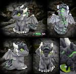 Dragon OC Ullises plush #2