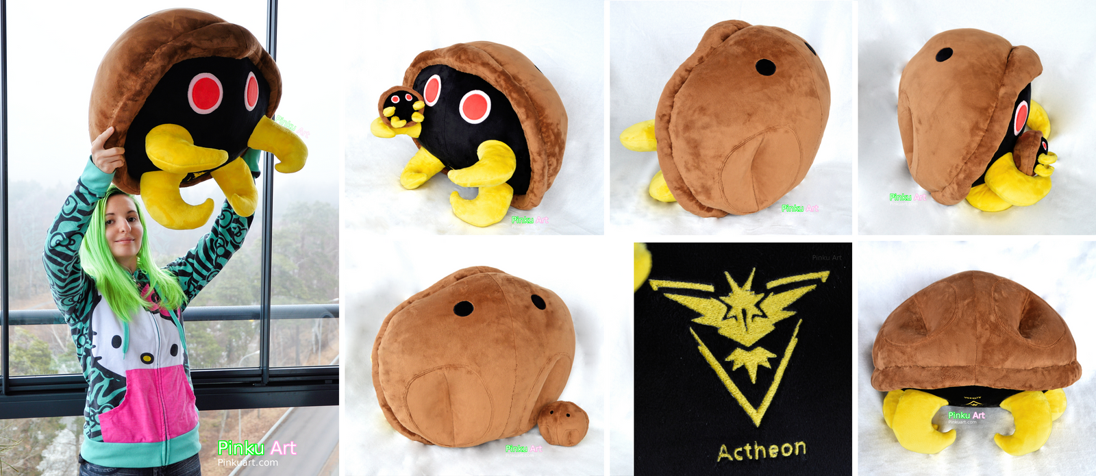 Lifesize Kabuto plush - Pokemon