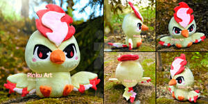 Baby Moltres Pokedoll - Version 2!