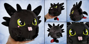Toothless Blob plush I How to train your dragon