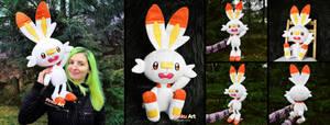 Scorbunny Plush I Pokemon
