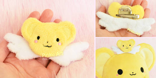 Kero plush Brooch / Hairclip I Card Captor Sakura