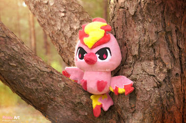 Chibi Shiny Moltres plush I Pokemon