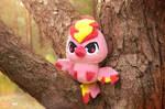Chibi Shiny Moltres plush I Pokemon