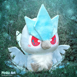 Chibi Articuno plush - Shiny version I Pokemon