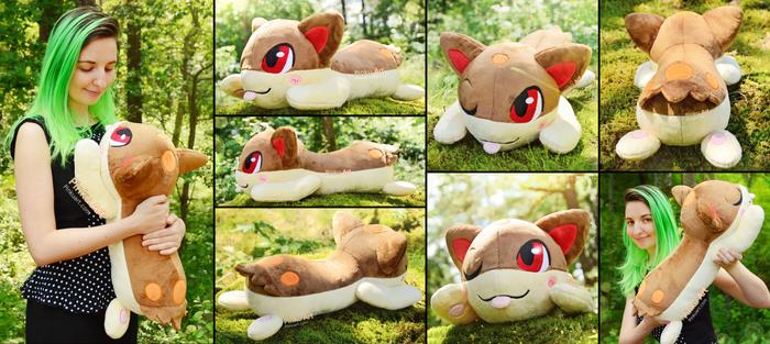 Shiny chibi Quilava plush I Pokemon