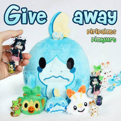Pokemon Sword and Shield Giveaway