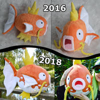 Magikarp plush evolution