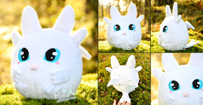 Round Lightfury Blob plush I Httyd