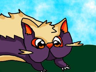 Pokemon-Stunky by BubbleIce720