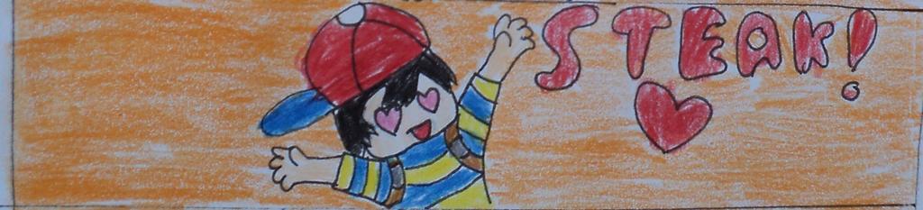 Ness Love STEAK! by BubbleIce720