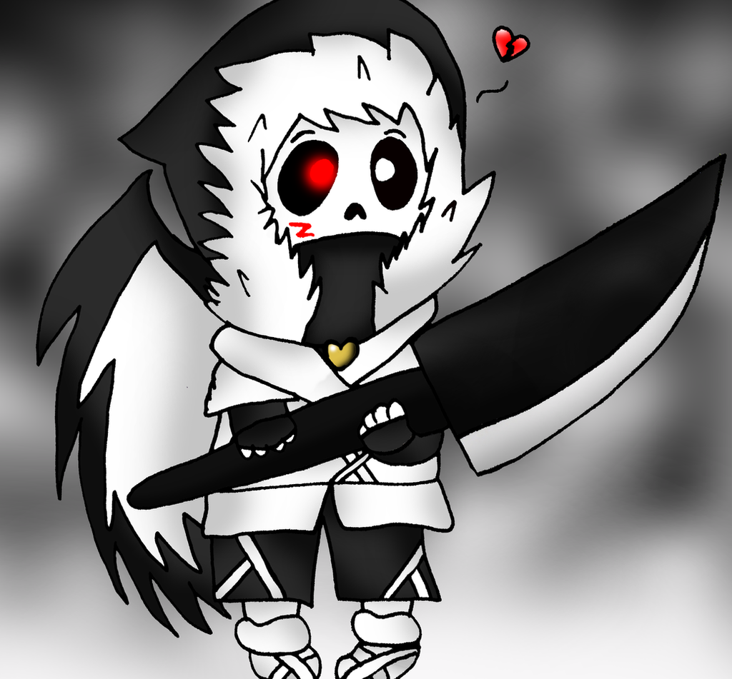 Angle Song Chibi Cross Sans By Bubbleice720 On Deviantart