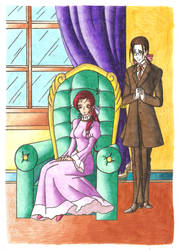 Her Butler Silent And Obedient