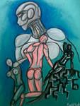 Seductive Cyborgs by InkyOculus