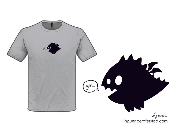 grr...t-shirt design by ingunnbf