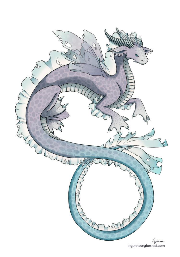 water dragon by ingunnbf on DeviantArt