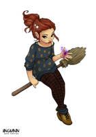 Halloween Witch 2017 by ingunnbf