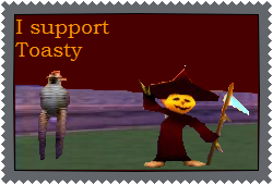 Toasty Supporter Stamp by Lady-ALTernate