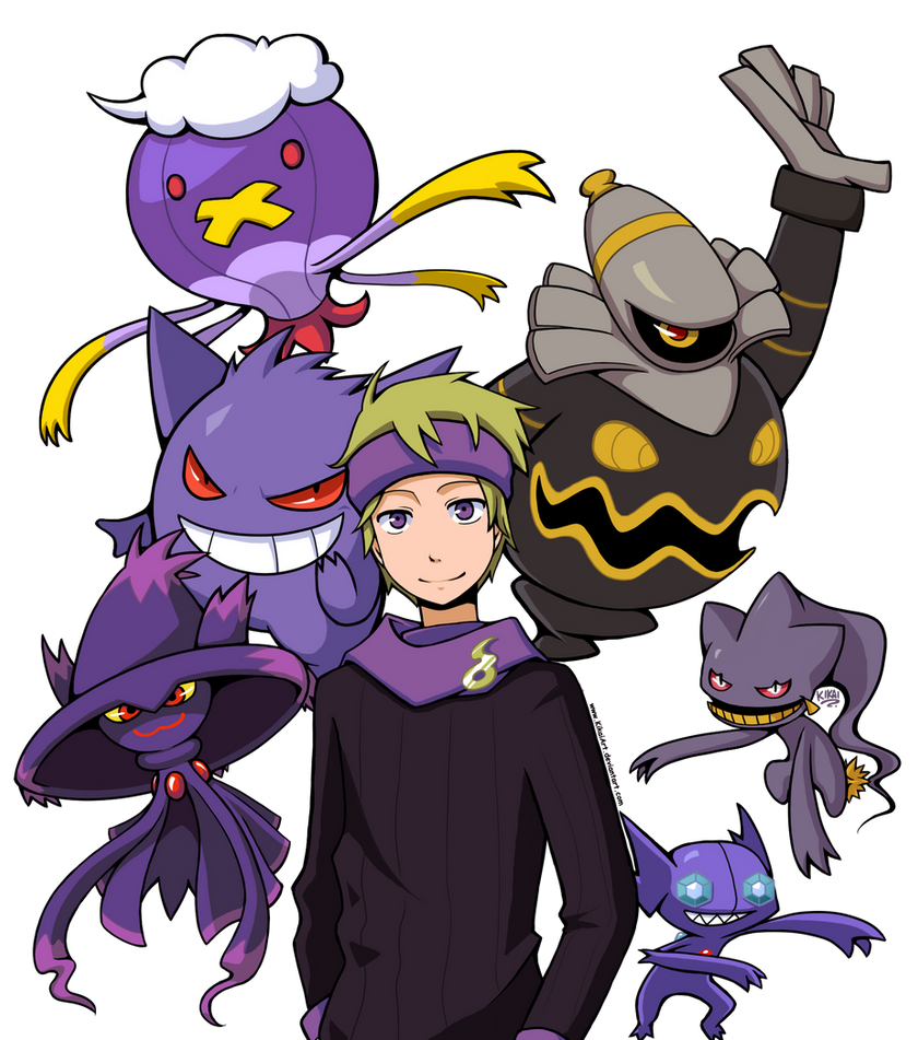 Morty's Ghosts by KikaiArt