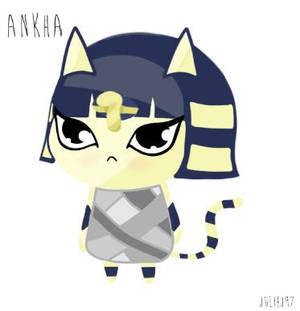 Ankha - Animal Crossing