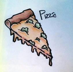 Pizza Doodle by juliej97